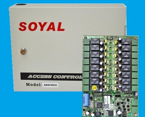 Điều khiển phân tầng thang máy với bộ điều khiển  Soyal AR-401RO16