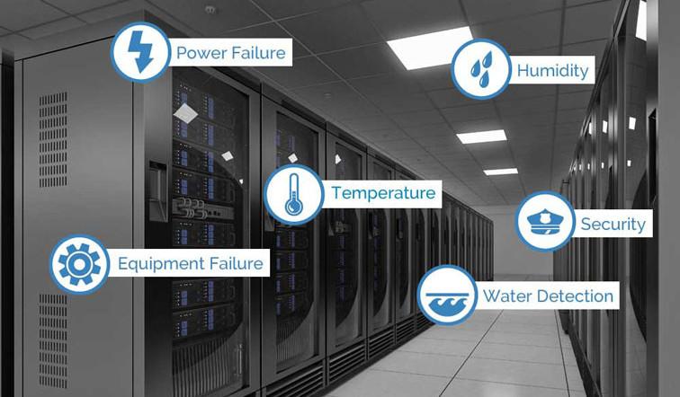 Giải pháp RDU giám sát môi trường phòng máy chủ của hãng Vertiv