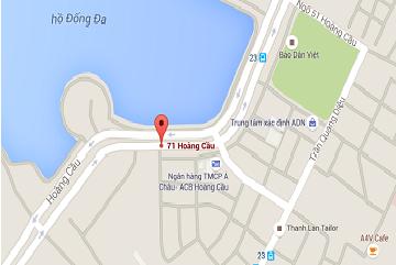 Thông tin liên hệ và địa chỉ văn phòng công ty VDATA