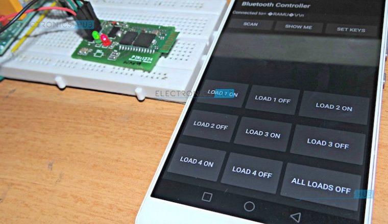 Tự làm bộ điều khiển smarthome qua bluetooth